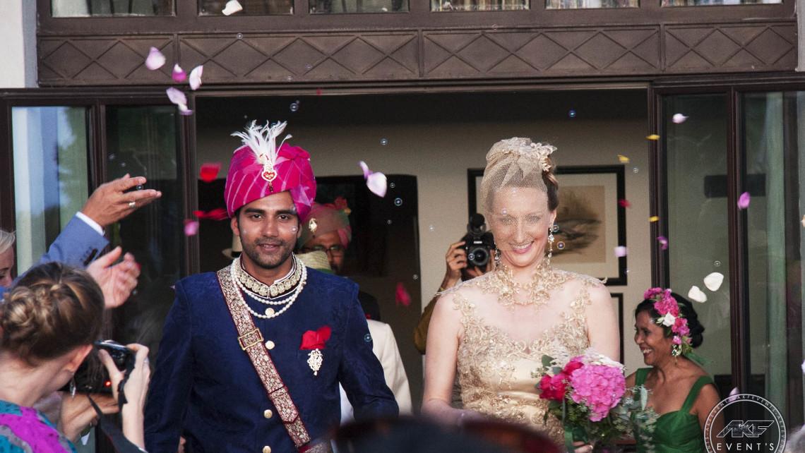 animation mariage indien